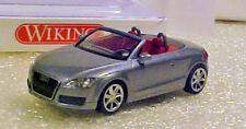 Wiking 13438 HO Audi TT Roadster Gray NIB