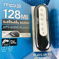 Coby MPC833 Silver/Black 128MB Digital Media Player Brand New Factory Sealed NIP