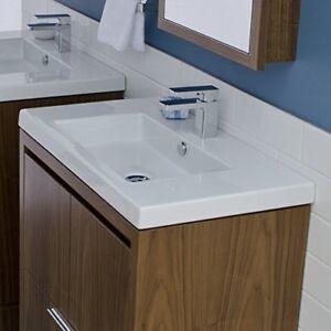 LACAVA 5212-00 Wall-mount, vanity top or self-rimming porcelain lavatory