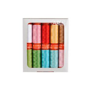 SEW CHERRY 2 - LORI HOLT THREAD SET 50 wt SMALL spool cotton thread
