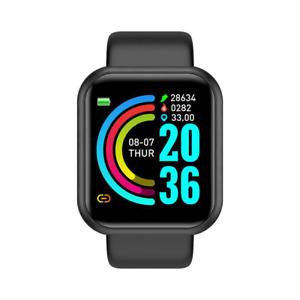 Reloj inteligente Y68 para hombre, pulsera electrónica con Monitor de Fitness, r