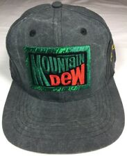 Mountain Dew Brett Favre #4 Hat VINTAGE SNAPBACK Green Bay Packers  Gray EUC