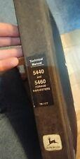 John Deere 5440 5460 Self-Propelled Forage Harvester Technical Manual Tm-1177