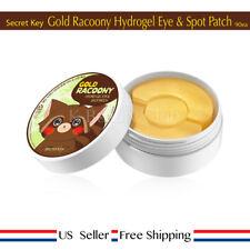 Secret Key Gold Racoony Hydrogel Eye & Spot Patch 90ea +Free Sample [ US Seller