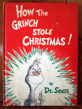 How the Grinch Stole Christmas! by Dr. Seuss 1957 Random House Vintage Hardcover