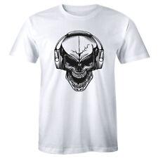 DJ Skull Shirt Club Music Festival Dance Rave Emd Men's Premium T-shirt Tee