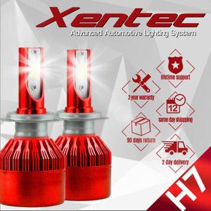 XENTEC H7 388W 38800LM LED Headlight Kit High Low Beam Bulbs White 6500K Power