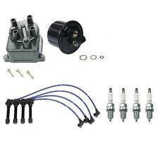 For Honda Civic EX Si D16Z6 V-TecTune Up Kit Gas Filter Cap NGK Wires+Plugs