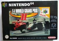 F1 WORLD GRAND PRIX II NINTENDO 64 VERSIONE PAL NUOVO STOCK FUND