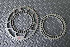 Rotor Q Rings Double Oval Chainring Set 130 BCD -- 40/53T