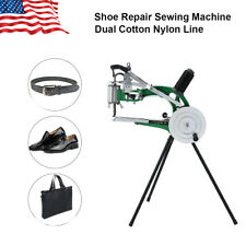 Shoe Repair Machine Dual Cotton Nylon Line Making Sewing Stitching Equip Manual