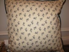 Ralph Lauren TALMADGE HILL Calico Quilted deco pillow NWT