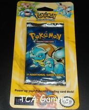 Sealed Original BASE SET Blister Pokemon Cards Booster Pack (Blastoise Art) CS9