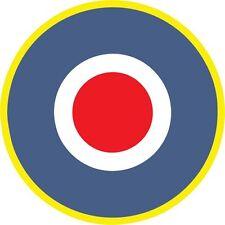 RAF Aereo Modello Militare Tondi Adesivi Decalcomanie in vinile esterno VARIE SCALE