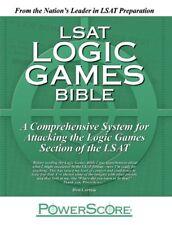 The PowerScore LSAT Logic Games Bible by David M. Killoran