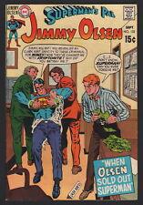 SUPERMAN'S PAL JIMMY OLSEN #132, DC COMICS, 1970, FN CONDITION