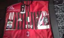 AC MILAN 2011-12 TECHFIT JERSEY BNIB FULL PATCHES