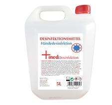 Desinfektionsmittel Händ Kanister 5 Liter Ethanol 80%  Aktionspreis Glycerol