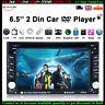 6.5' HD Car Stereo Bluetooth FM Radio DVD、CD Player USB/EQ/SD Touch Screen 2 DIN