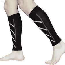 D5d2 1pair Calf Support Compression Leg Sleeve Running Shin Splint Brace Wrap