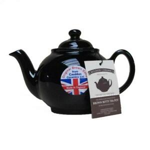 Brown Betty Teapot 2 cup - U.K. Made, Tea Pot by Cauldon Ceramics