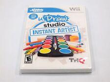 uDraw Studio Instant Artist  for Nintendo Wii ** BRAND NEW GAME **