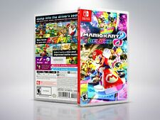 Mario Kart 8 Deluxe - Switch - Replacement - Cover/Case - NO Game