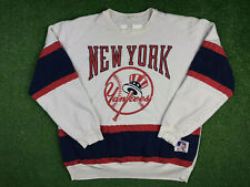 VTG 90s New York Yankees MLB World Series Crewneck Sweatshirt L