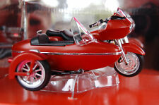 2000 ROAD GLIDE  HARLEY DAVIDSON & SIDECAR  1/18th  MODEL MOTORCYCLE