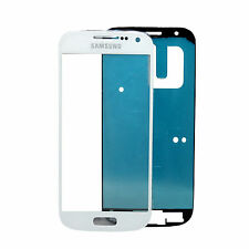 Original Samsung Galaxy S4 mini I9190 I9195 LCD Display Glas Scheibe Weiß Kleber