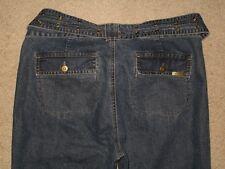 DKNY Size 6 Bootcut Womens Denim Jeans With Denim Belt