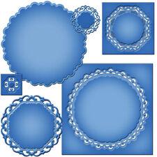 SPELLBINDERS Nestabilities MAJECTIC CIRCLES 6 Dies S4-420 Cut Emboss Stencil