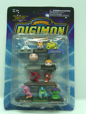 VINTAGE DIGIMON MINI FIGURES 10 PACK MOC 3