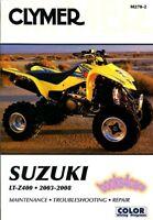 LTZ400 SUZUKI SHOP MANUAL SERVICE REPAIR BOOK CLYMER HAYNES CHILTON