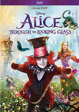 Alice Through the Looking Glass (DVD, 2016) New Disney Johnny Depp Free Shipping