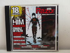 CD ALBUM Compil METAL HAMMER Razor Vol 9 RAMMSTEIN / CRADDLE OF FILTH / THERAPY