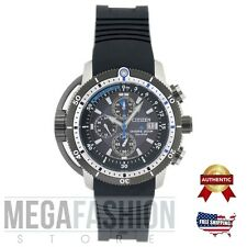 NEW CITIZEN MEN´S ECO DRIVE PROMASTER AQUALAND CHRONOGRAPH WATCH BJ2120-07E