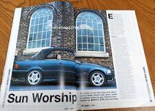 BMW Car 2000 - RMS E46 Convertible AC Schnitzer E46 Buying Guide E36 Convertible