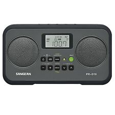 Sangean Pr-d19bk FM Stereo/am Digital Tuning Portable Radio With Protective