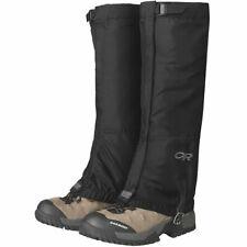 Yao Space 1 Pair Rain Shoe Covers Feet Gaiter Waterproof Hiking Gaiters Durable Legging Gaiter Breathable High Leg Cover Wraps for Men Women Children Color : Black, Size : Medium