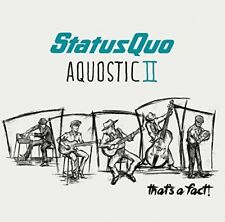 Status Quo Aquostic II 2 That's a Fact 2cd Deluxe Edition Factory ##