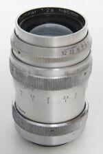 Steinheil 85mm f2.8 Culminar VL Lens. Leica screw mount