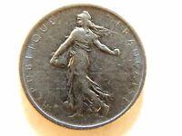 1965 France Half (1/2) Franc Coin