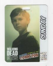 NYCC-Comic Con Badge Pass 2012 (The Walking Dead) Carl Grimes AMC Sunday