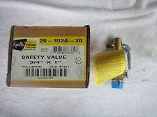 """NIB Apollo Valves Conbraco Safety Valve 3/4"""" x 1""""   29-302A-30      29302A30"""