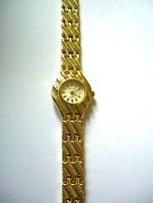 Pierre Nicol Luxury Style Watch -  Yellow Gold Tone - Ladies