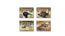 TOK0801 WWF Birds 4 pcs. MNH TOKELAU 2008