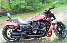 Harley V ROD Throw Under Seat Bags Saddlebags V-Rod VROD - VTU01BL BAD&G CustomS