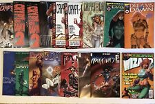 Cry/Crypt Of Dawn 16 HTF Rare Comic Lot Joseph Michael Linsner Wizard Variants