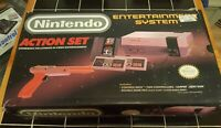 Nintendo Entertainment System NES Action Set console complete in box new 72 pin